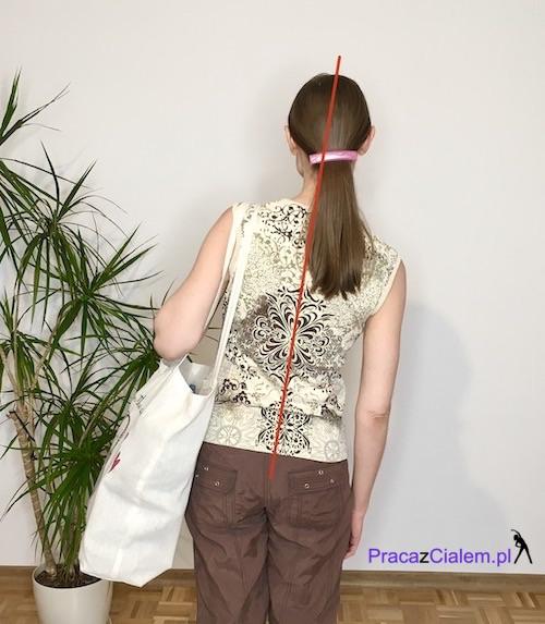obrazek torby noszonej na lewym ramieniu