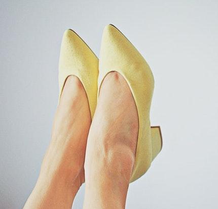 Obrazek wąskich butów